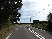 TL9568 : A1088 Stow Lane & Lay-by by Adrian Cable