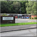 SO2601 : Outdated name sign, Pontnewynydd Small Business Centre by Jaggery