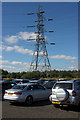 NZ2983 : Electricity Pylon near Cambois by Mark Anderson