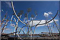 NZ3181 : Spirit of the Staithes Sculpture, Blyth by Mark Anderson
