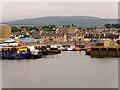 NH7068 : Invergordon Harbour by David Dixon