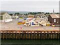 NH7068 : Wharf at Invergordon Port by David Dixon