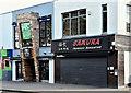 J3372 : Smokehouse and Japanese restaurant, Botanic Avenue, Belfast (September 2016) by Albert Bridge