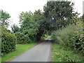 SO8772 : Cakebole Lane at Cakebole, Worcestershire by Jeff Gogarty