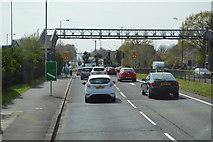TQ1372 : Footbridge, A316 by N Chadwick