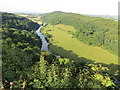 SO5616 : River  Wye  from  Symonds  Yat  rock  (2) by Martin Dawes