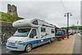 SN5781 : Campervans, New Promenade by Ian Capper