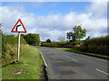 SP9645 : Bend ahead on Astwood Road by Robin Webster