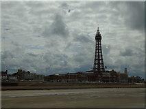 SD3036 : Blackpool promenade by Carroll Pierce