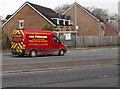ST3090 : Tom Prichard Contracting van, Malpas Road, Newport by Jaggery