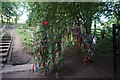 SE8942 : Decorative Tree at St Helen's Well by Ian S