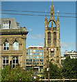 NZ2463 : St Nicholas Cathedral tower by Thomas Nugent