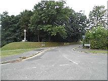SU8651 : Knollys Road, Aldershot by David Howard