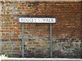 TM0890 : Boosey's Walk sign by Adrian Cable