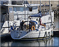 J5082 : Yacht 'Skreo' at Bangor by Rossographer
