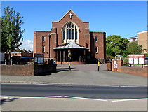 SX9091 : St Thomas Methodist Church, Exeter by Jaggery