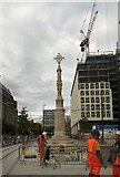 SJ8397 : The return of St Peter's Cross by Gerald England