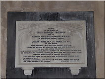 TG4919 : Holy Trinity and All Saints, Winterton on Sea: memorial (c) by Basher Eyre