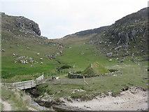 NB1340 : Iron Age Village at Bostadh by M J Richardson