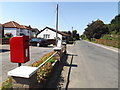 TM1193 : Bunwell Street & The Street Post Office Postbox by Adrian Cable
