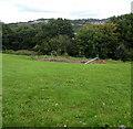 ST3089 : Children's playground below Barrack Hill, Newport by Jaggery