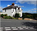 ST3089 : White semis, Barrack Hill,Newport by Jaggery