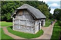 SO9568 : Threshing Barn by John M