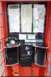 SO9568 : Inside a K6 Telephone Kiosk by John M