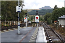 NN3825 : The junction at Crianlarich station by Richard Hoare