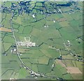 ST3453 : Somerset Levels at Dulhorn Farm from the air by Derek Harper