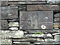 NY3403 : This benchmark is on Skelwith Bridge by Norman Caesar