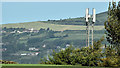 J2967 : Telecoms mast, Ballyskeagh, Dunmurry (September 2016) by Albert Bridge