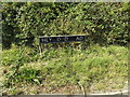TM1287 : Heywood Road sign by Adrian Cable