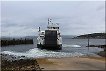 NS2059 : The departing ferry for Great Cumbrae by Richard Hoare