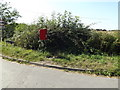 TM1287 : Heywood Road sign & Long Row Postbox by Adrian Cable