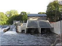 ST1380 : Radyr weir hydro scheme by Gareth James