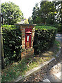 TM1485 : Rectory Road Victorian Postbox by Adrian Cable