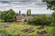 SO9590 : View from Kate's Hill by David P Howard