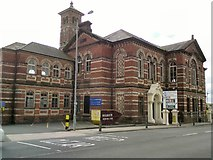 SJ9499 : Albion Warehouse (formerly Albion School) by Gerald England