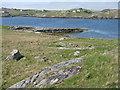 NB1533 : Breakwater at Iarsiadar by M J Richardson