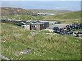 NB1533 : Mussel farm building at Iarsiadar by M J Richardson