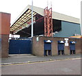 SJ8889 : Danny Bergara Stand, Edgeley Park, Stockport by Jaggery