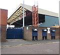 SJ8889 : Danny Bergara Stand, Edgeley Park, Stockport by Jaggery