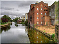 SP9066 : River Nene and Whitworth Brothers Flour Mill, Little Irchester by David Dixon