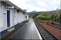 NN3825 : Crianlarich station by Richard Hoare