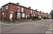 SJ8889 : Row of houses, Hardcastle Road, Edgeley, Stockport by Jaggery