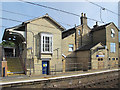 TL2938 : Ashwell & Morden station buildings by Mike Quinn