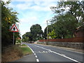 TL9174 : A1088 Ixworth Road, Honington by Adrian Cable