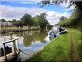 SP6260 : Grand Union Canal, North of Bridge#24 by David Dixon