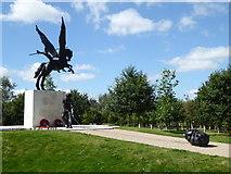 SK1814 : The National Memorial Arboretum - The Parachute Regiment and Airborne Forces by Chris Allen